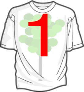 Green 2 T-shirt 7 Clip Art