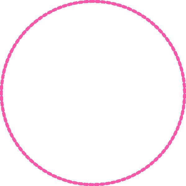 Pink Circle Clip Art at Clker.com - vector clip art online ...
