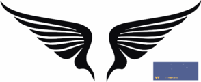 Wings Fly Fast Clip Art