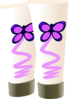 Butterfly Lotion Clip Art