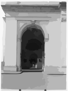 Hallway Through Entrances To Union Station, [washington, D.c.] Clip Art