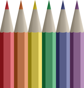Colored Pencils Clip Art