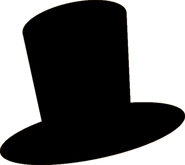 black hat clip art at clkercom vector clip art online