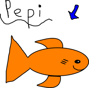 Pepi My Fish!! Clip Art