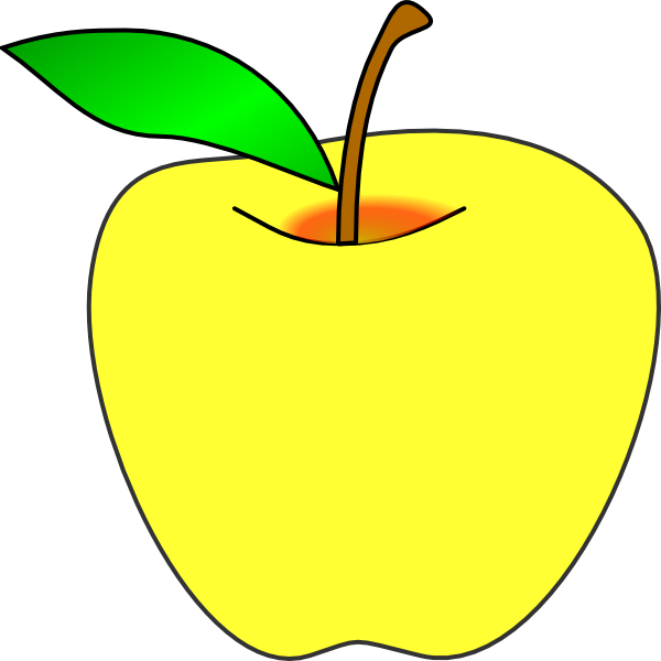 clipart apple pages - photo #40
