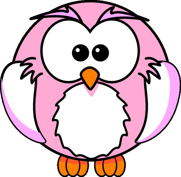 pink owl clip art at clker com vector clip art online pink and grey owl clip art pink baby owl clip art