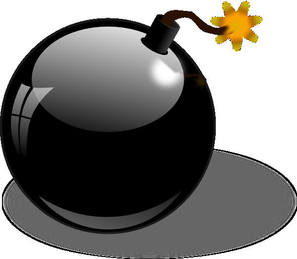black bomb clip art at clker com vector clip art online royalty rh clker com bomb clipart free bomb clipart images