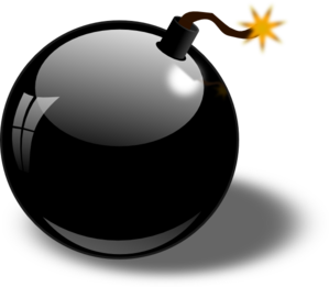 Clipart Bombe black bomb clip art at clker - vector clip art online, royalty