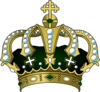 Green Crown Clip Art