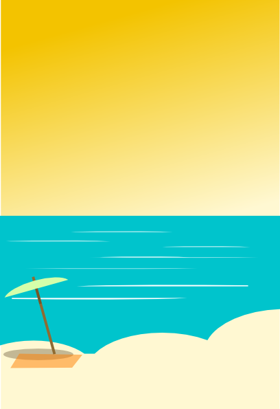 Beach Background 5 Clip Art at Clker.com - vector clip art ...
