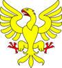 Eagle Yellow Clip Art