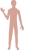 Male Body Two Clip Art
