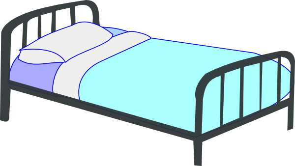 bed 11 clip art at vector clip art online. Black Bedroom Furniture Sets. Home Design Ideas