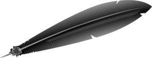 Feather Pen No Shadow Clip Art