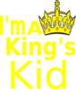 I M A King S Kid Clip Art