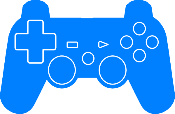 play station controller silhouette clip art at clker com