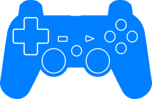 Play Station Controller Silhouette Clip Art