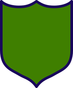 Dark Green Shield Clip Art
