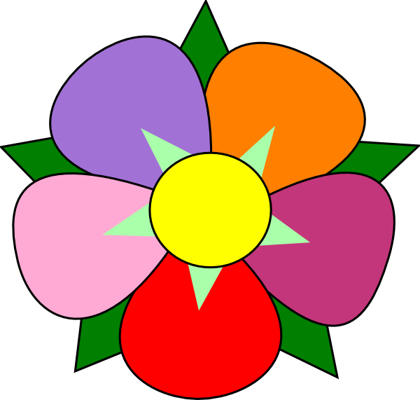 flower clip art at clker com vector clip art online royalty free