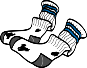 Old Socks Clip Art