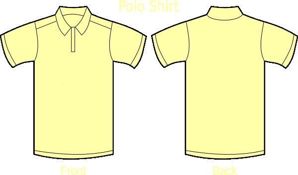 Light Yellow Polo Shirts