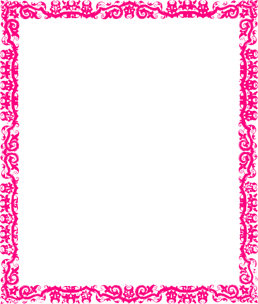 Decorative Pink Border Clip Art Vector Online Royalty Free Pictures