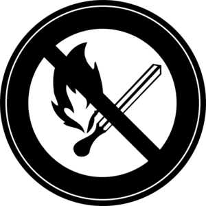 No Fire 1 Clip Art