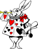 White Rabbit Clip Art