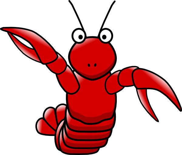 funny lobster clipart - photo #4