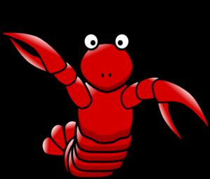 cartoon lobster clip art at clker com vector clip art online rh clker com lobster clip art for cnc router lobster clipart animation