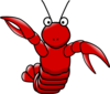 Cartoon Lobster Clip Art
