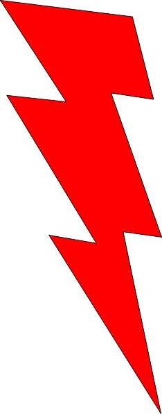 Red Lightning Bolt Icon Images Galleries With A Bite