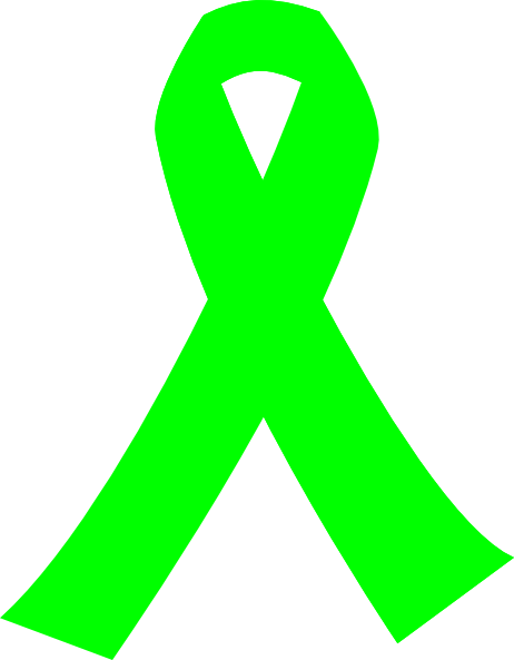 free clip art green ribbon - photo #6