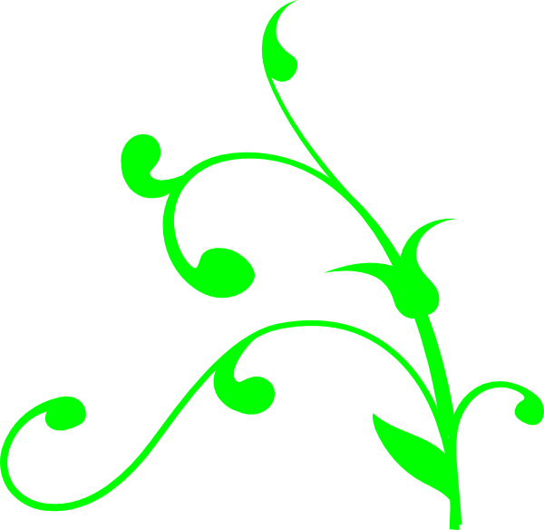 Green Swirl Thing Clip Art at Clker.com - vector clip art ...