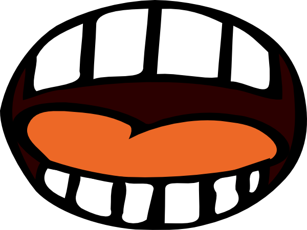 Mouth For Project Clip Art at Clker.com - vector clip art ...