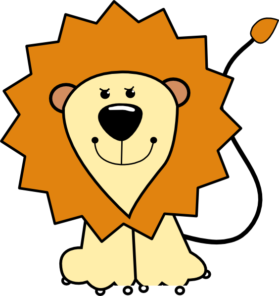 Cartoon Lion Clip Art at Clker.com - vector clip art ...
