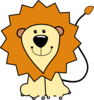 Cartoon Lion Clip Art