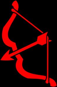 Red Bow N Arrow Clip Art at Clker.com - vector clip art ...