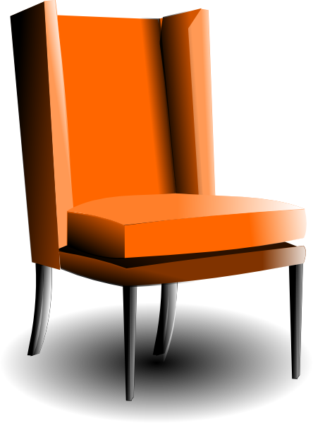 Old Fashioned Chair Clip Art At Clker.com   Vector Clip Art Online, Royalty  Free U0026 Public Domain