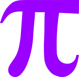 Light Purple Pi Clip Art