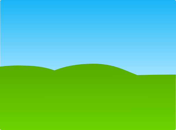 Sky And Grass Clip Art at Clker.com - vector clip art ...
