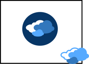 New Blue Clouds Clip Art