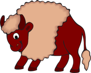 Happy Bull Clip Art