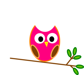 Orange Owl Clip Art