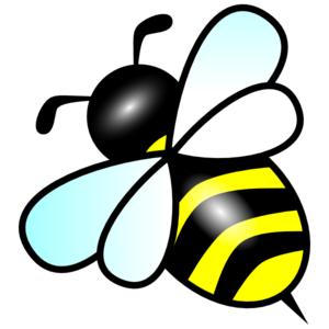 bee clip art at clker com vector clip art online royalty free rh clker com free clip art bee with honey free clip art bee images