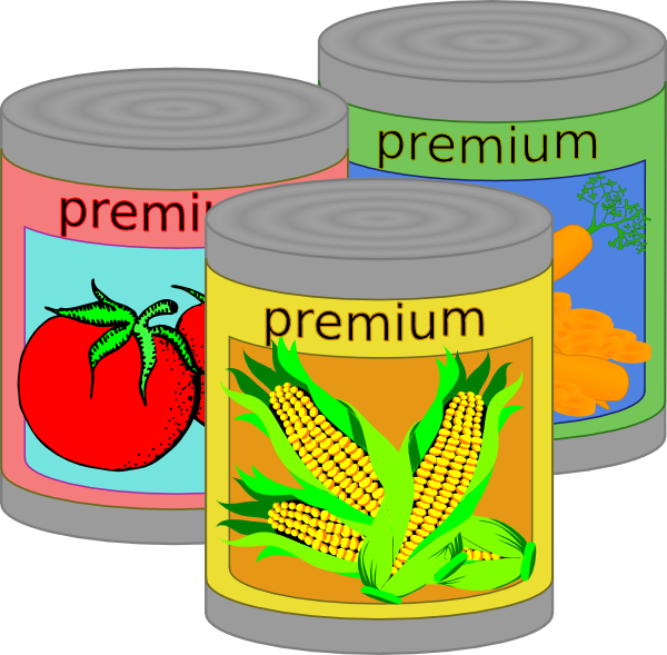 canned goods clip art at clker com vector clip art online royalty rh clker com canned food clipart black and white canned food drive clip art