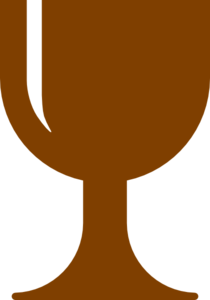 Brown Chalice Clip Art at Clker.com - vector clip art online, royalty ...