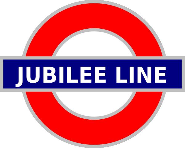 Jubilee Line Sign Clip Art at Clker.com - vector clip art online ...