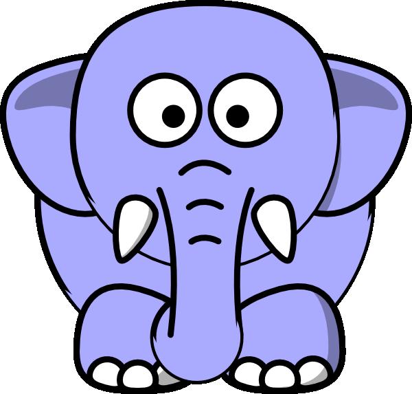 elephant face clipart outline - photo #8