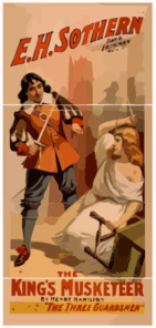 The King S Musketeer By Henry Hamilton : A New Version Of  The Three Guardsmen.  Clip Art